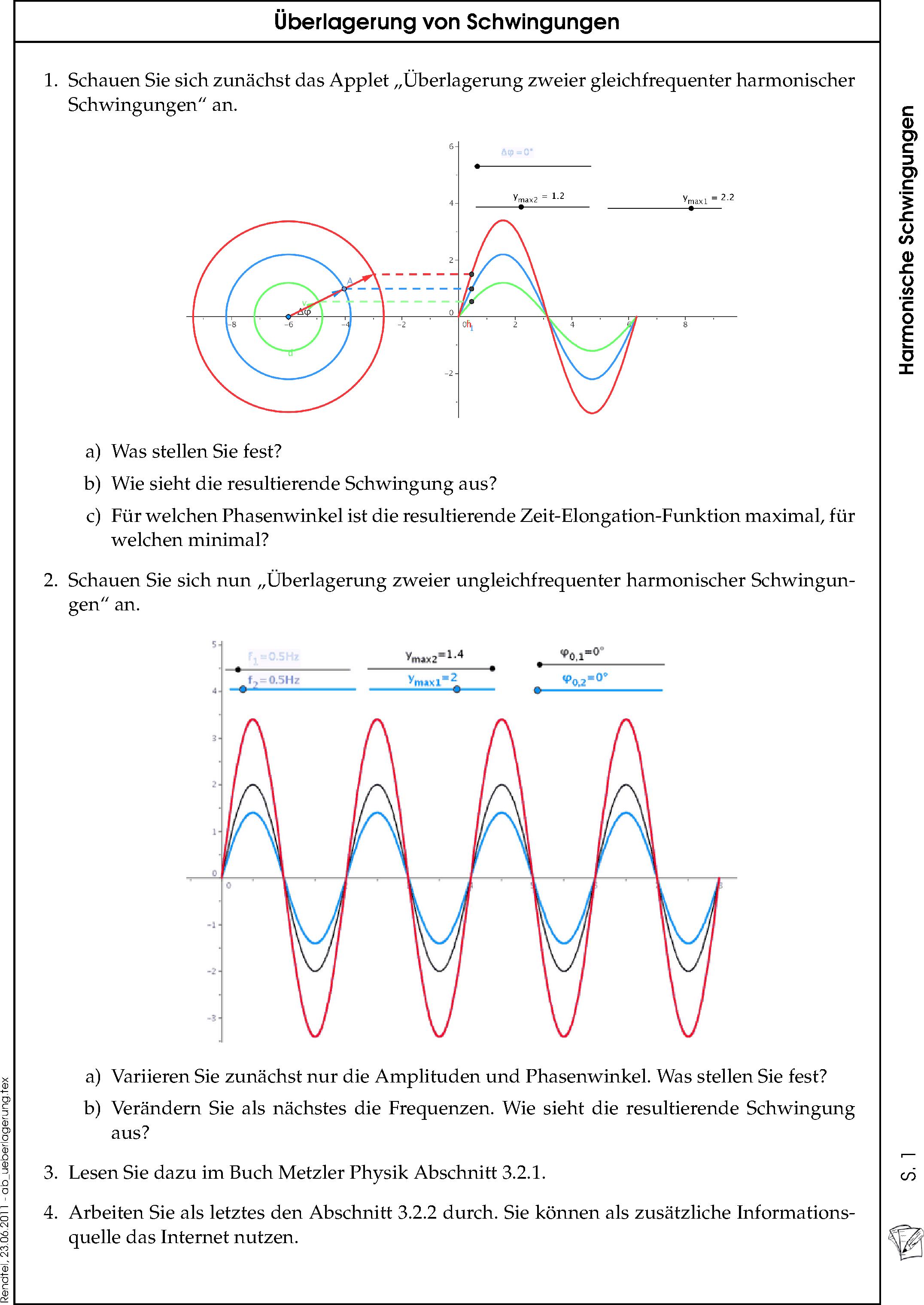 Rendtel.de: Schulmaterial -- Physik